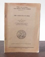 Allouse - The Avifauna of IRAQ - Vogelwelt des Irak - 1953 - Karte - top