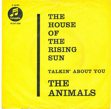 """7"""" - The Animals - The House Of The Rising Sun - Columbia C 22791 - DE 1964"""