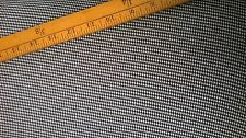 small dogtooth poly viscose lycra  Fabric by the metre black and white