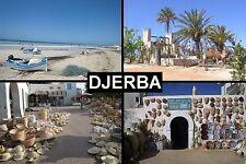 SOUVENIR FRIDGE MAGNET of DJERBA TUNISIA