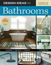 Design Ideas for Bathrooms (2nd edition) (Home Decorating)-ExLibrary