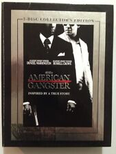 American Gangster (DVD, 2008, 3-Disc Set, Collector's Edition)Lot Mint Disc