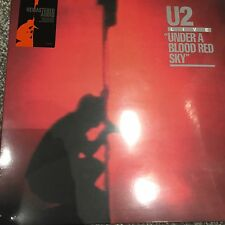 U2 'Live Under A Blood Red Sky' 2008 UK Remastered 180g vinyl LP - NEW & SEALED
