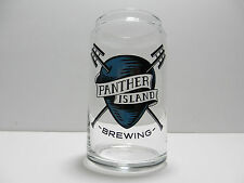 Panther Island Brewing Can Shaped 16 Ounce Beer Glass Ft Worth Texas Microbrewey