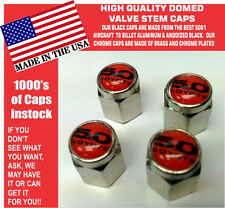 Chrome Ford 5.0 Red Coyote Mustang Cobra Shelby GT Valve Stem Caps - The Best