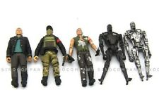 "Lot 5pcs Terminator 4 Salvation 3.75""Figure Toys T-700 John Connor Barnes Marcus"