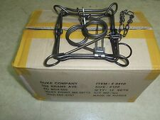 1 DZ Duke 120 Double Spring Body Gripper Traps Trap Muskrat Mink 0410 (Dozen)