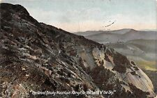 WHITNEY NC PSMK THE GREAT SMOKY MOUNTAIN RANGE IN THE LAND OF SKY POSTCARD c1907