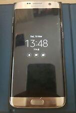 Samsung Galaxy S7 Edge SM-G935F - 32GB-Dorado (Desbloqueado) DAÑADO Vidrio Platino