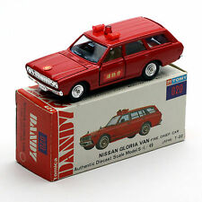 TOMY 020 tomica DANDY NO.20 NISSAN GLORIA VAN FIRE CHIEF CAR Made in Japan
