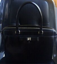 AUTHENTIC KATE SPADE BEACON COURT BOW PATENT LEATHER SATCHEL HANDBAG PURSE