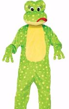 Freddy the Frog Costume Mascot Deluxe Plush Furry Funny Toad Unisex - Fast -