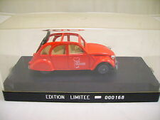 000168 SOLIDO CITROEN 2 CV ALSA-COLLECTIONS EDITION LIMITEE