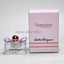 FERRAGAMO SIGNORINA - Eau de Toilette 5 ml - Miniature Collectible/Mini Perfume