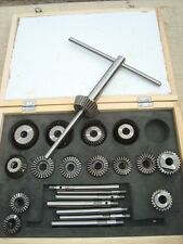 Valve seat Cutter set 15 cutters suit only Vintage cars soft heads in kit