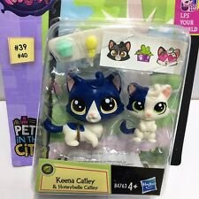 Littlest Pet Shop LPS Pets in the City Keena & Honeybelle Catley Hasbro Toy