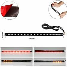 "Universal 12""  36-LED Motorcycle Strip Tail Brake Stop Flowing Turn Signal Light"