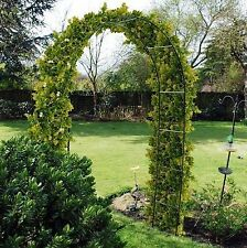 NEW GARDEN STEEL TUBE ARCH EASY ASSEMBLY IDEAL FOR ALL CLIMBING PLANTS