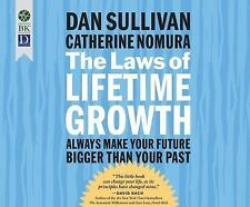 The Laws of Lifetime Growth by Dan Sullivan and Catherine Nomura (2016, MP3 CD)