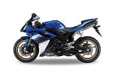 2008 Yamaha YZF-R1, Welly Motorrad Modell 1:18, Neu, OVP