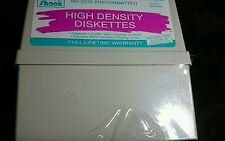 Vintage Radio Shack High Density Diskettes SEALED Box 10 5 1/4 Diskettes 26-451
