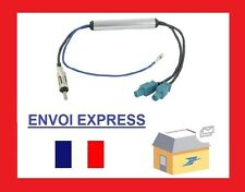 Citroen C1 Aerial Adaptor Amplified Fakra ISO DOUBLE  Cable Lead