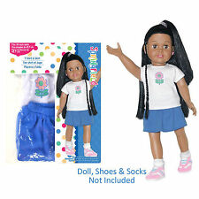 "SF Springfield T-SHIRT & SKIRT SET for 18"" American Girl Dolls Outfit Tee NEW"