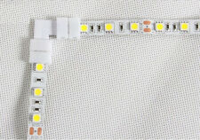5pcs 5050 LED STRIP LIGHT CORNER CONNECTORS SOLDERLESS L SHAPE 90 DEGREE JOINT