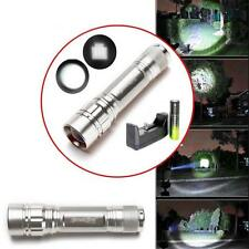 Waterproof 3000 LM 3 Modes CREE T6 LED Focus Lamp Flashlight Torch+Charger+18650