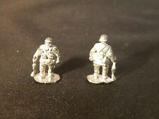 EWM FreMcy16 1/76 Diecast WWII  French Motorcycle Trooper Standing with Carbine