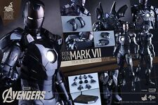 Hot Toys Iron Man Mark VII MK 7 modo Stealth Promo de película-Nuevo UK sellado de fábrica