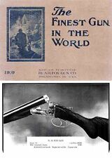 AH Fox 1909 Gun Catalog