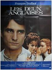 LES DEUX ANGLAISES ET LE CONTINENT Affiche Cinéma / Movie Poster TRUFFAUT