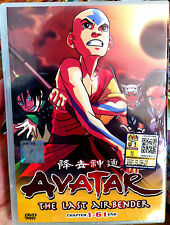 Avatar: The Last Air Bender: Books 1-3 (1 - 61End) ~ 4-DVD ~ English Dubbed ~