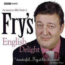 FRY'S ENGLISH DELIGHT - STEPHEN FRY - NEW/SEALED BBC AUDIO BOOK