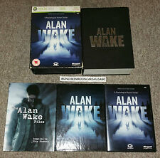 Alan Wake Limited Collectors Edition PAL Microsoft XBox 360 FREE UK P&P