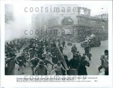 1987 Scene From Movie Empire of The Sun Chaos in Shanghai Press Photo