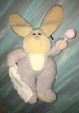 Mooning Plush Matchbox Linda Novick 1985 Need Littles Baby Bunny Rabbit Stuffed