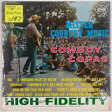 COWBOY COPAS: Mister Country Music USA Starday ORIG DG Shrink VG+ Vinyl LP