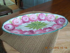 C. Ahrenfeldt SAXE SERVING DISH  Circa 1886-1910 Green Crown Stamp Numbered