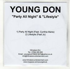 (EN588) Young Don, Party All Night - DJ CD