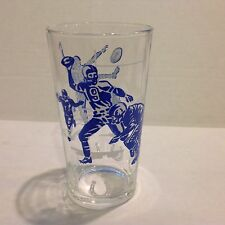 Vintage Baltimore Colts Glass with Johnny Unitas & Raymond Berry 1960's qty avl.