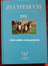 Zuchtbuch 1991 Körbuch Schweizer Sennenhund Appenzeller Berner Entlebucher