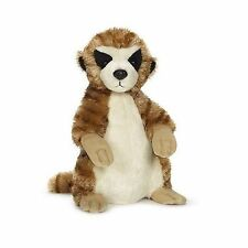 WEBKINZ BY GANZ - MEERKAT HM644 - CUDDLY SOFT TOY - PLUSH FIGURE WITH CODE