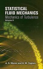 Dover Books on Physics: Statistical Fluid Mechanics Vol. 2 : Mechanics of...