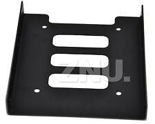 HDD/SSD Einbaurahmen 2,5 auf 3,5 Festplatten Adapter Festplattenh Einbau Rahmen