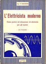 P. Magnoni - L'ELETTRICISTA MODERNO. Edizioni Lavagnolo