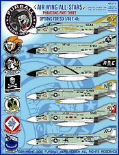 1/48 Furball Air Wing All Stars: Phantoms Part Three decals for the Academy Kit