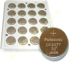 New Panasonic CR2477 Replacement 2477T batteries for ROTOR POWER CRANKS CR2477T