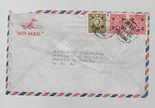 1948 Shanghai China Cover Jewish Ghetto to USA Majda Thurnher to University CA